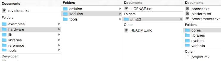 Koduino: Arduino IDE Setup